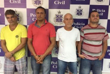 Sequestradores de ex-prefeito baiano são presos enquanto faziam divisão do dinheiro | Divulgação | Polícia Civil