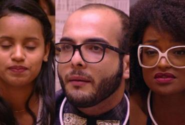 Gleici, Mahmoud e Nayara formam o quarto paredão do BBB18 | Divulgação | TV Globo