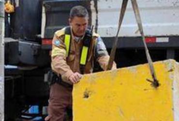 Barreiras de trânsito para Carnaval são desmontadas nesta quarta | Divulgação | Secom