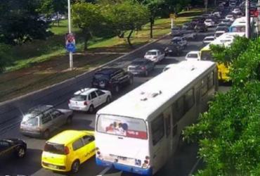 Festa de Iemanjá deixa trânsito lento nos acessos ao Rio Vermelho | Reprodução | Twitter