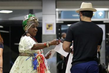 Aeroporto ainda tem movimento de saída de turistas que vieram para folia | Alessandra Lori l Ag. A TARDE