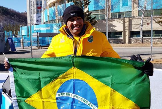 Dupla brasileira fecha 1º dia do bobsled em 27º lugar nos Jogos de Inverno | Abelardo Mendes | rededoesporte.gov.br
