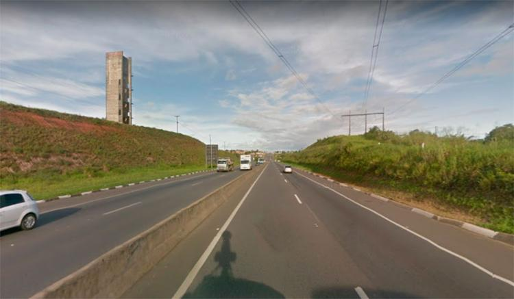 Acidente ocorreu próximo à entrada do município de Simões Filho - Foto: Reprodução | Google Maps