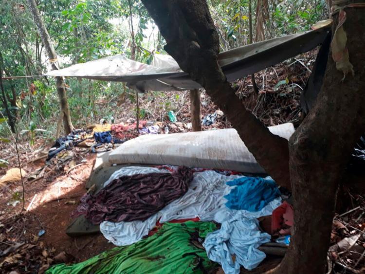 Alojamento funcionava dentro da mata fechada do Parque São Bartolomeu - Foto: Divulgação | SSP
