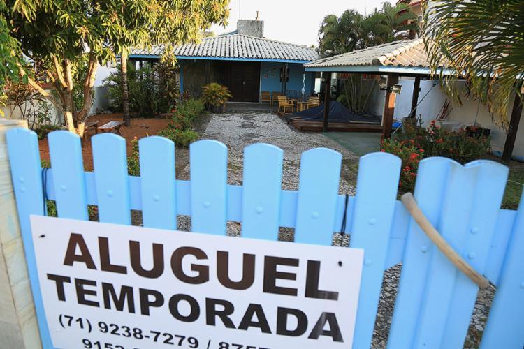 Em algumas plataformas, a negociação é por meio de corretores; em outras, com o proprietário - Foto: Joá Souza l Ag. A TARDE