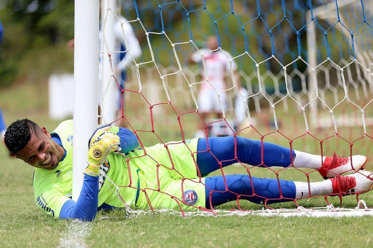 Anderson deve ser o titular do Esquadrão hoje na Fonte Nova - Foto: Felipe Oliveira l EC Bahia