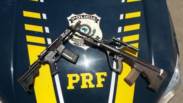 O equipamento foi apreendido pela PRF - Foto: Reprodução | Facebook