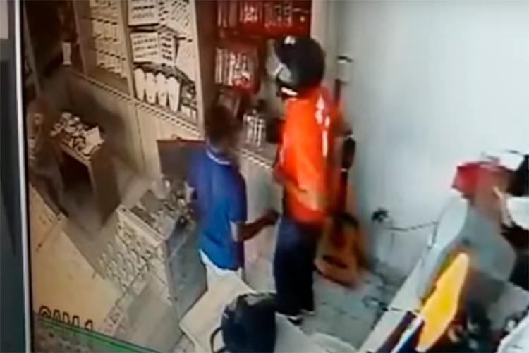 Suspeitos teriam assaltado uma joalheria na tarde do mesmo dia - Foto: Reprodução | YouTube