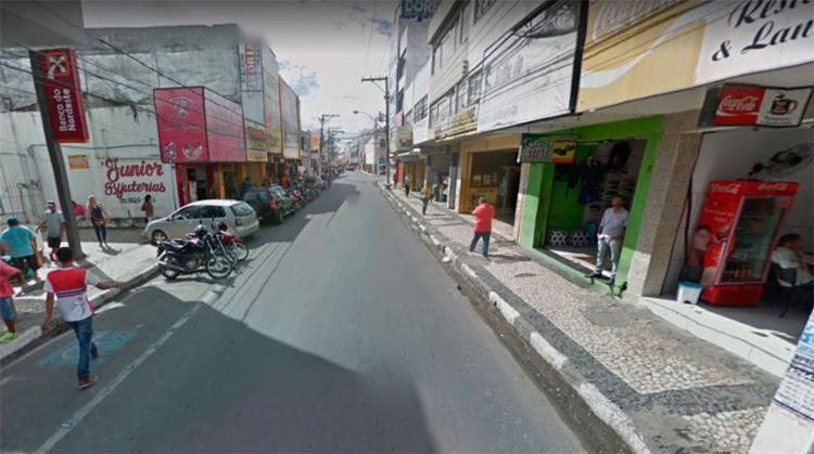 Atropelamento aconteceu na rua Conselheiro Franco - Foto: Reprodução | Google Maps