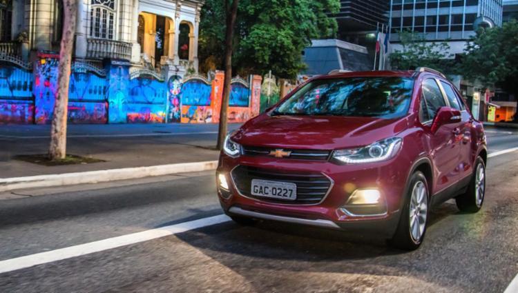 Reestilização do Tracker alinhou modelo ao visual mundial da marca - Foto: Chevrolet | Divulgação