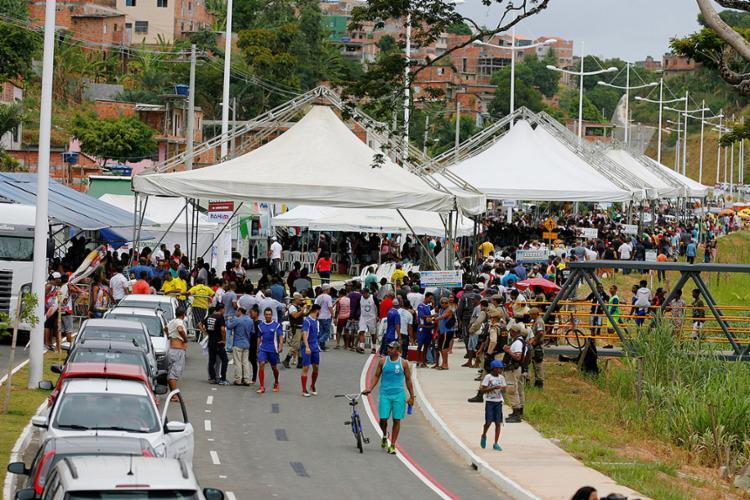 Além dos torcedores do Vitória, moradores de, pelo menos, cinco bairros serão beneficiados - Foto: Luciano da Matta l Ag. A TARDE