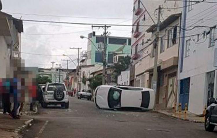 As causas do acidente são investigadas pelo Sistema Municipal de Trânsito - Foto: Reprodução | Blog do Anderson