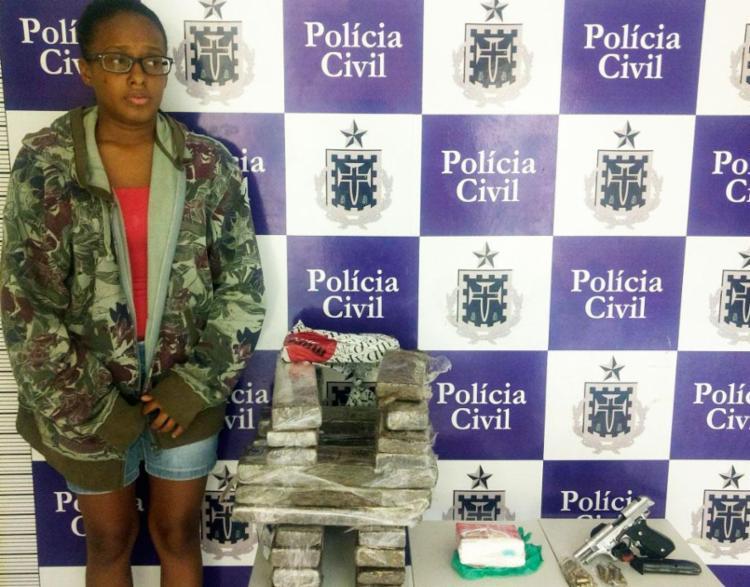 Silvana da Conceição foi presa na noite deste sábado, 17 - Foto: Divulgação | SSP-BA