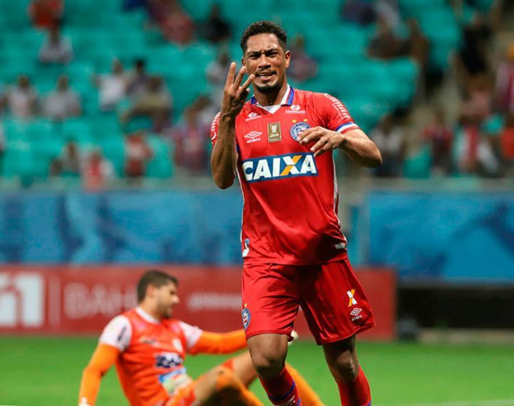 Atleta tem 31 anos e defendeu o Bahia nas últimas duas temporadas - Foto: Adilton Venegeroles   Ag. A TARDE