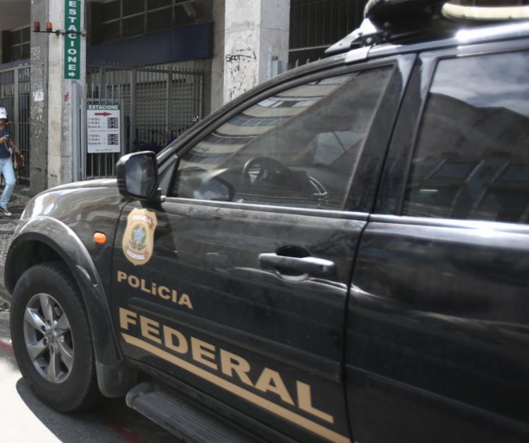 Segundo a PF, bens e valores dos envolvidos foram bloqueados também - Foto: Joá Souza | Ag. A TARDE
