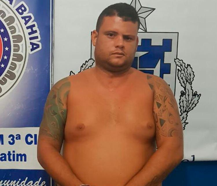 Ele já tinha mandado de prisão definitivo expedido, por ter sido condenado pelo crime de roubo qualificado - Foto: Divulgação | SSP