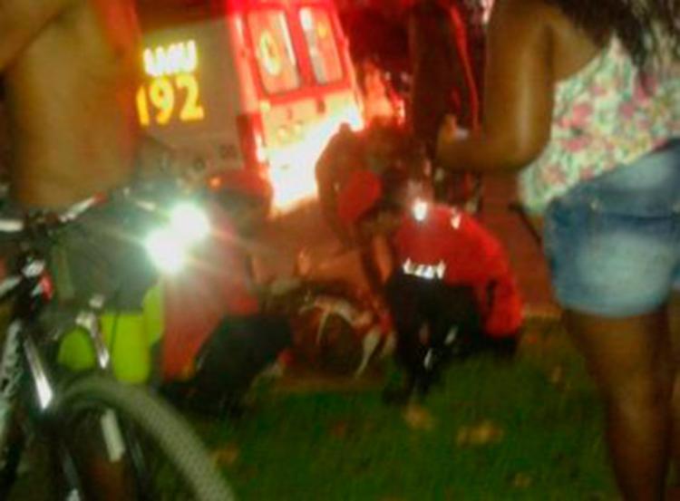 Samu foi acionado para socorrer as vítimas - Foto: Reprodução | Blog 24h