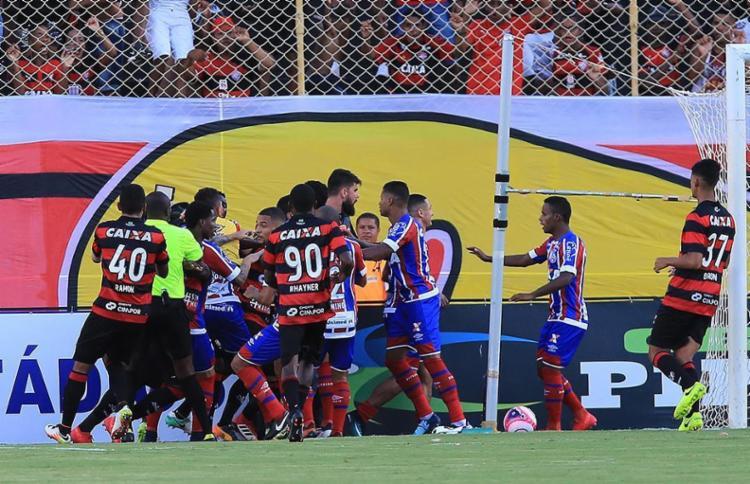 Tricolor foi declarado vencedor do Ba-Vi por 3 a 0 - Foto: Margarida Neide l Ag. A TARDE