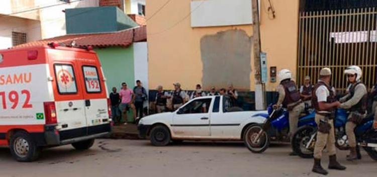 Samu e Polícia Militar foram acionados e estiveram no local - Foto: Reprodução | Blog SigiVilares