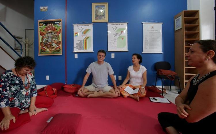 Centro nos Barris realiza atividades para iniciantes, como o Darma com Pipoca - Foto: Adilton Venegeroles / Ag. A TARDE
