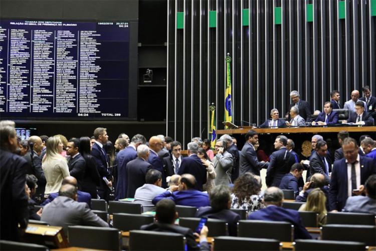 Intervenção foi aprovada com 340 votos favoráveis e 72 contra - Foto: Alex Ferreira | Divulgação | Câmara dos Deputados
