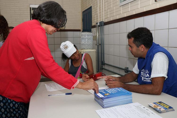Mutirão ofereceu diversos serviços gratuitos à população durante esta quarta-feira, 28 - Foto: Daniele Rodrigues l Ascom-SJDHDS