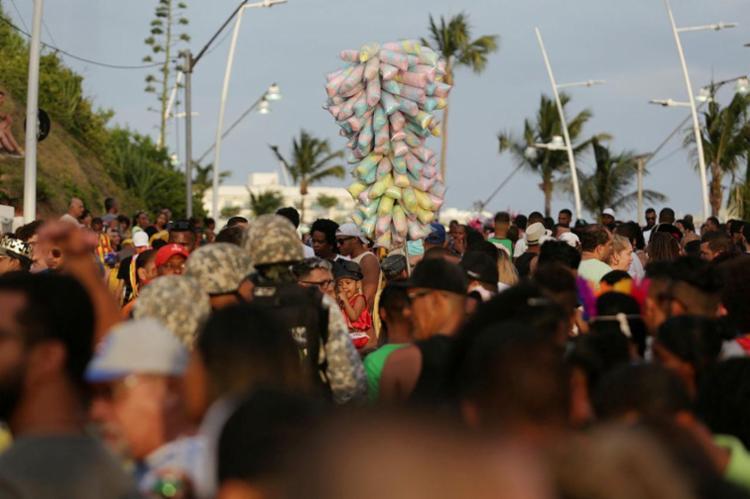 Tempo ficará nublado até o sábado de Carnaval - Foto: Adilton Venegeroles | Ag. A TARDE | 04.02.2018