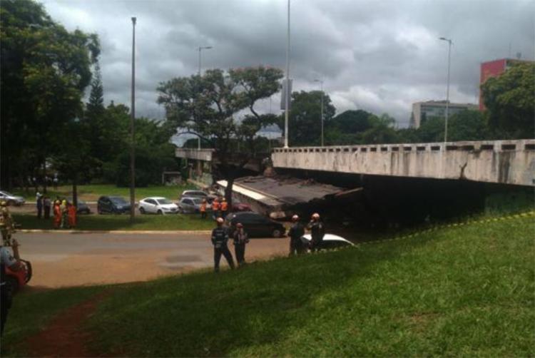 Acidente aconteceu próximo à rodoviária central de ônibus urbanos - Foto: Marcelo Camargo | Agência Brasil