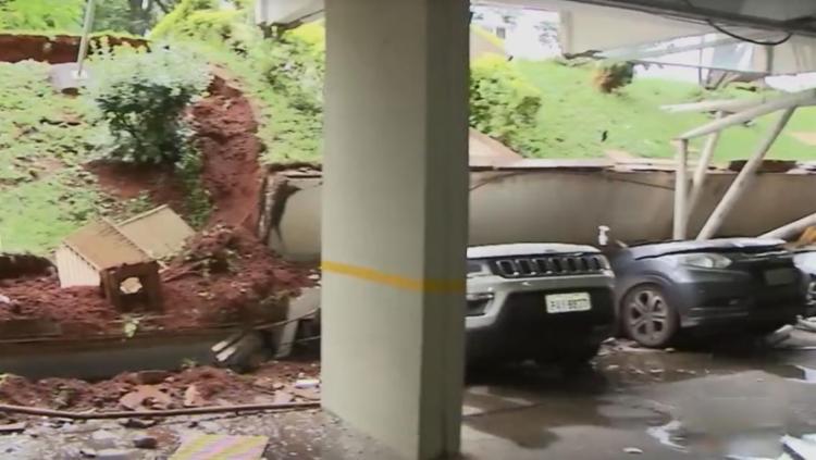 Ninguém ficou ferido na ocorrência - Foto: Reprodução | TV Globo
