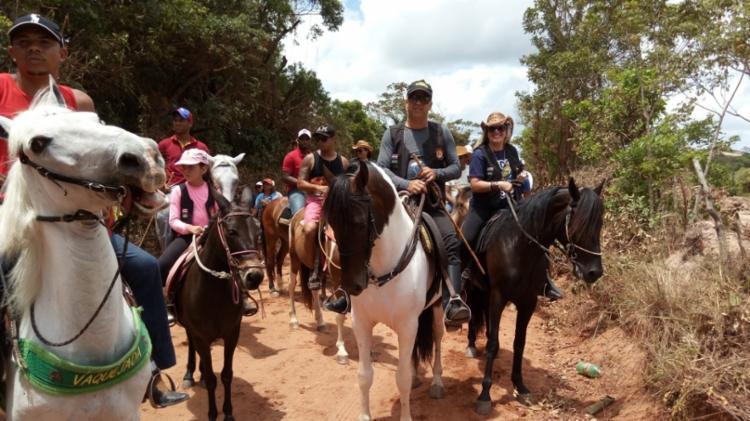 Este ano, a Cavalgada Noturna acontecerá do dia 3 de março e começa às 21h - Foto: Divulgação