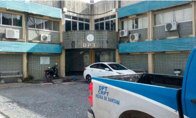 Corpo foi encaminhado para o DPT de Feira de Santana - Foto: Reprodução | Acorda Cidade
