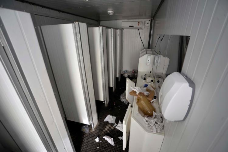Prejuízos em equipamentos somam R$ 50 mil - Foto: Jefferson Peixoto | Secom