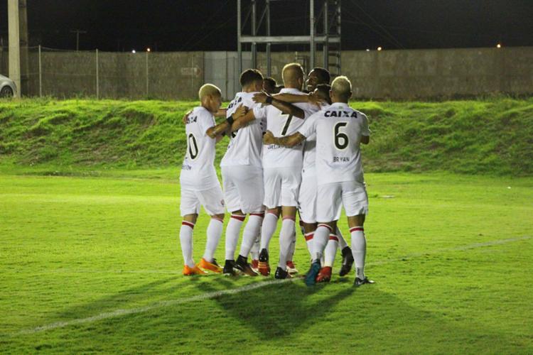 Rubro-Negro avançou à 2ª fase após vencer o Globo-RN - Foto: Moysés Suzart | EC Vitória | Divulgação