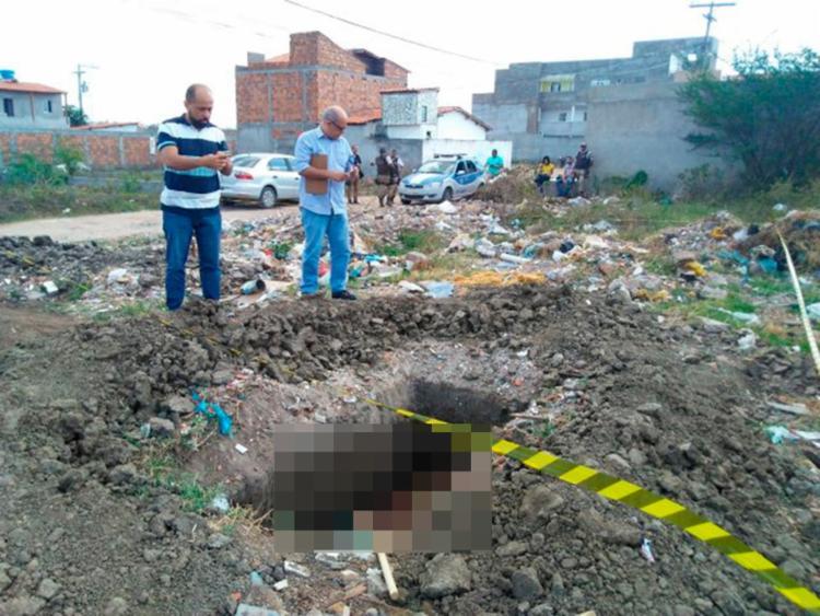 A polícia ainda investiga o autor dos disparos - Foto: Reprodução | Central de Polícia