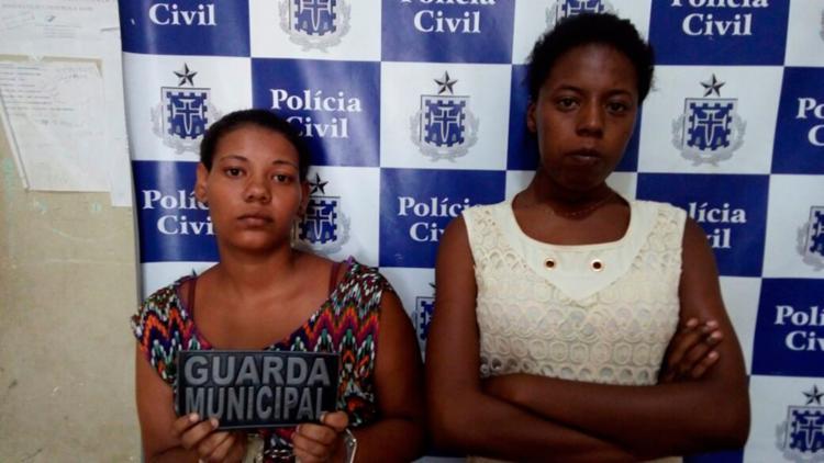 A dupla foi autuada por tráfico de drogas - Foto: Divulgação   PC-BA