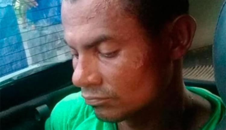 Rairone foi encaminhado à unidade policial de Belmonte - Foto: Reprodução | Blog do Pimenta