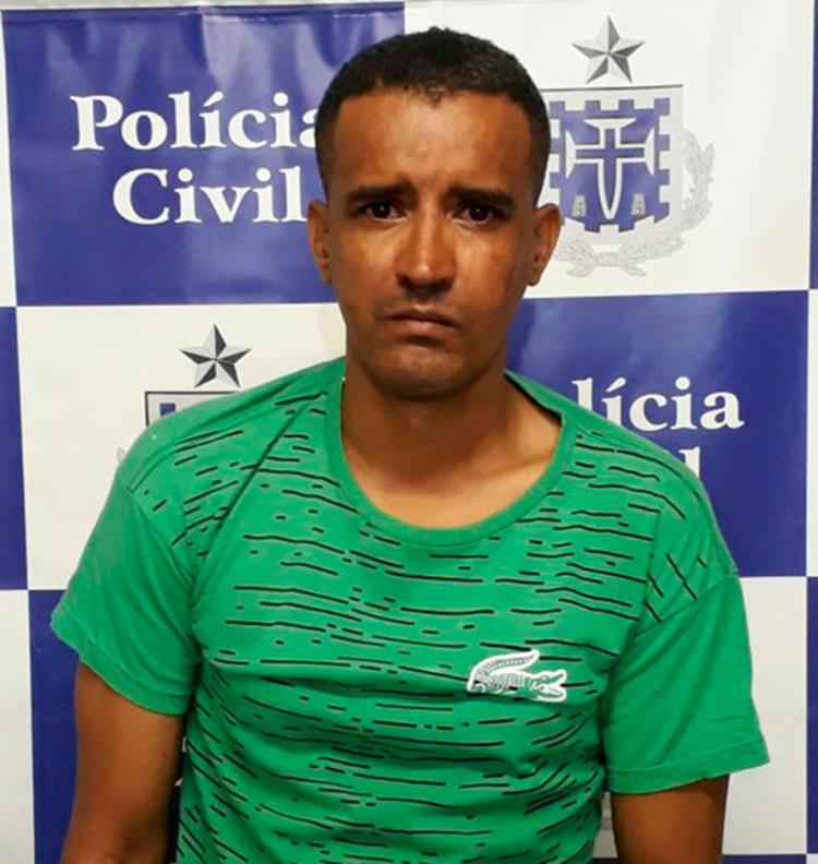 Neirisvan foi autuado pela Lei Maria da Penha e por porte ilegal de munições - Foto: Divulgação | PC-BA