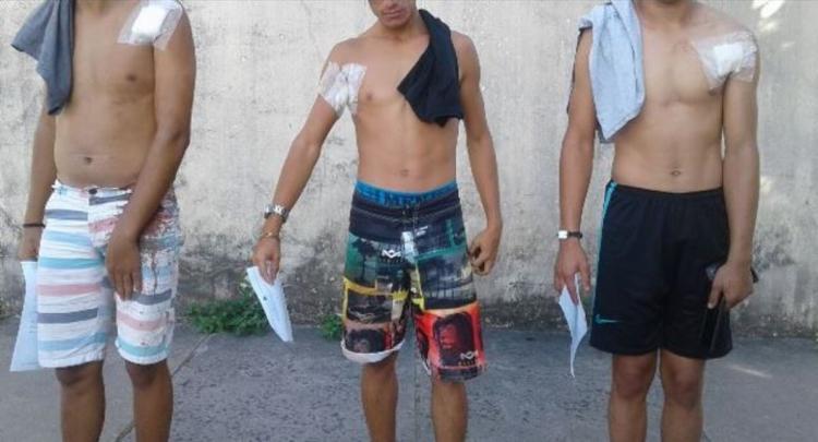Rapazes foram levados ao Hospital Geral Clériston Andrade (HGCA) e já tiveram alta - Foto: Reprodução l Acorda Cidade