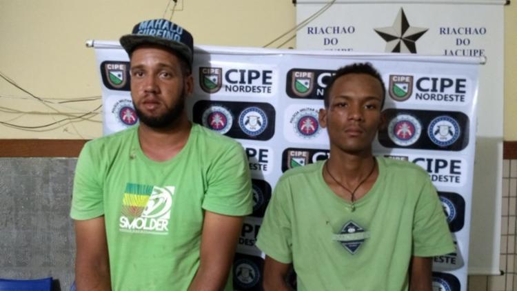 Os suspeitos foram presa com cerca de R$ 200 em notas falsas - Foto: Divulgação | SSP