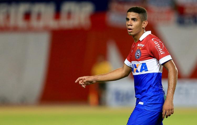 Kaynan ficará emprestado até abril - Foto: Felipe Oliveira | EC Bahia | 8.2.2017