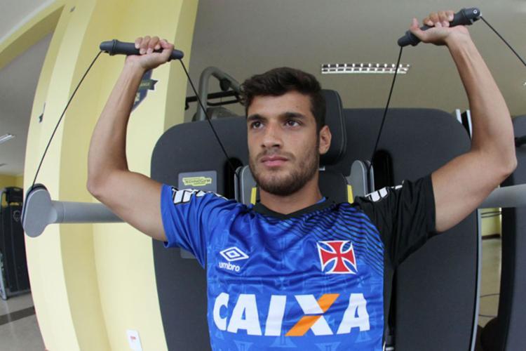 Meia ex-Vasco já fez exames na Toca do Leão - Foto: Marcelo Sadio | CRVG | Divulgação