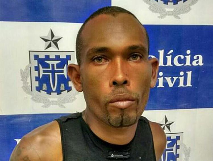 Edvaldo e seu comparsa, Ridivan, foram mortos com vários tiros na cabeça em local onde costumavam deixar produtos de roubo - Foto: Divulgação l Polícia Civil