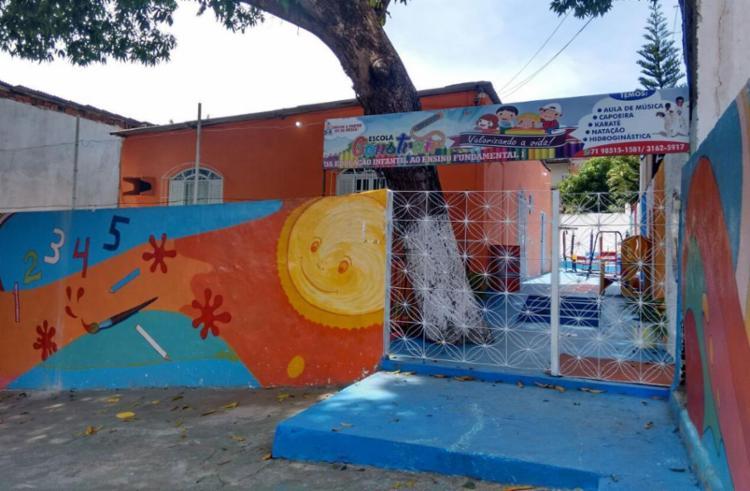 Escola não funcionou nesta sexta, um dia após morte da criança - Foto: Euzeni Daltro | Ag. A TARDE