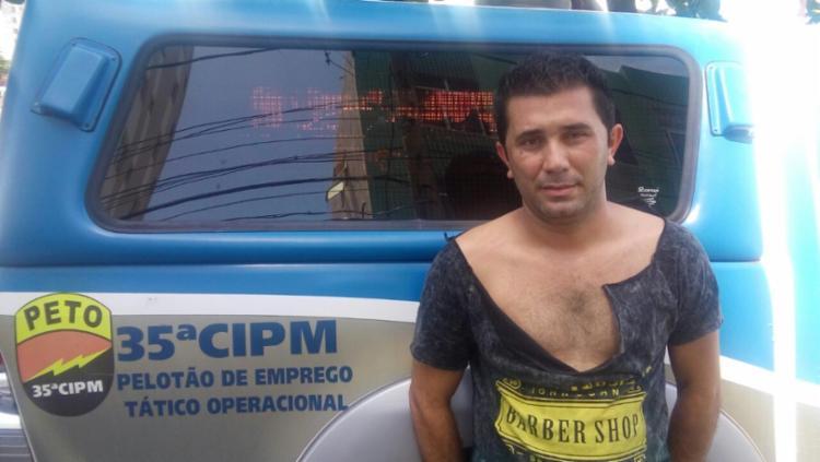 Marcus André Souza foi encaminhado para a delegacia da Pituba - Foto: Divulgação | SSP
