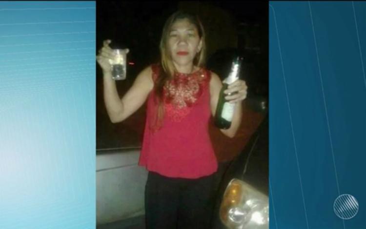 Rosângela foi desenterrada 10 dias depois por conta de um sonho da mãe - Foto: Reprodução | TV Bahia