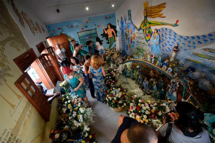 A festa é uma das principais manifestações com origem nas religiões de matriz africana em Salvador - Foto: Divulgação