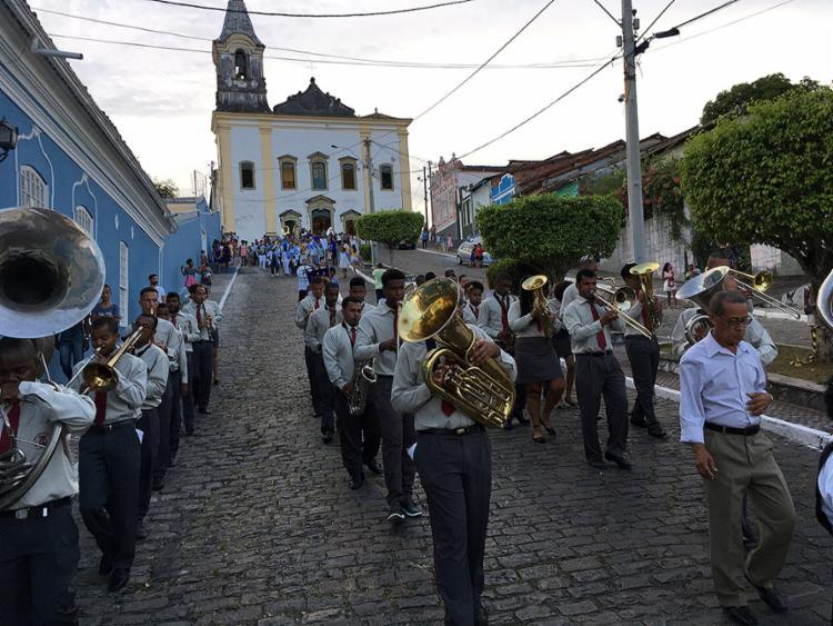 A Filarmônica Minerva Cachoeirana é referência no estado - Foto: Roberto Franco l Divulgação