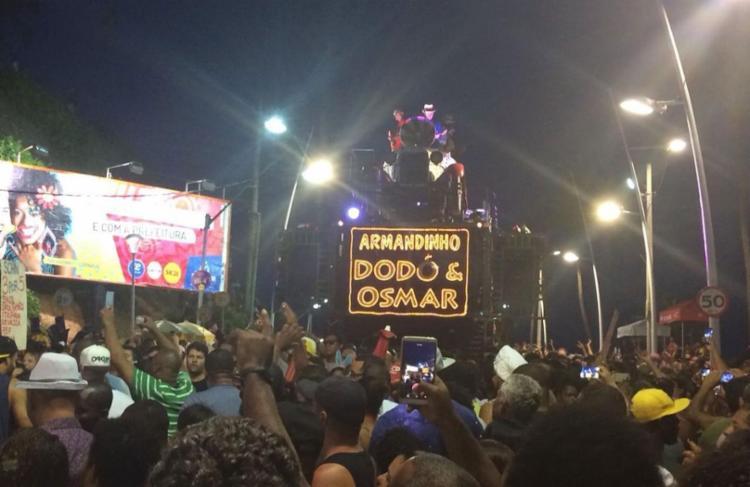 Armandinho puxou pipoca no circuito Orlando Tapajós - Foto: Anderson Sotero   Ag. A TARDE