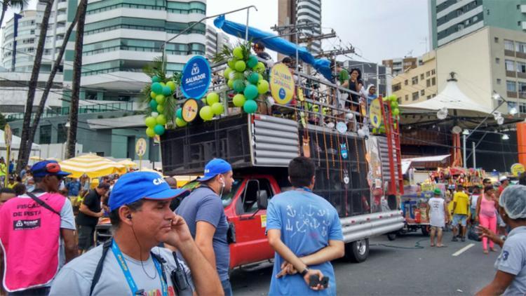Minitrios e pranchões elétricos fazem a festa no Furdunço - Foto: Thaís Seixas | Ag. A TARDE