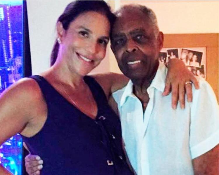 Gil publicou uma imagem ao lado da cantora e desejou boas-vindas - Foto: Reprodução | Instagram